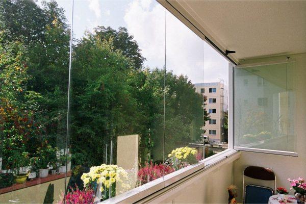 Панорамные окна безрамные