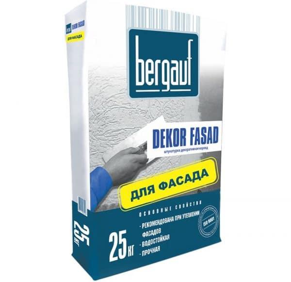 Декоративная штукатурка Bergauf Dekor Fasad