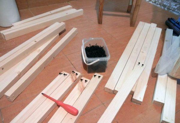 Изготовление деревянных реек