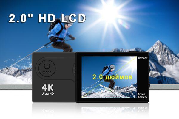 Экшн-камера eken H9R/H9 Ultra HD 4 K/30fps