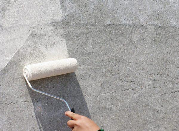 Грунтовка поверхности бетонконтактом