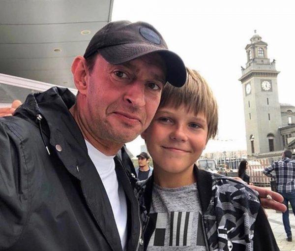 Хабенский с сыном Иваном