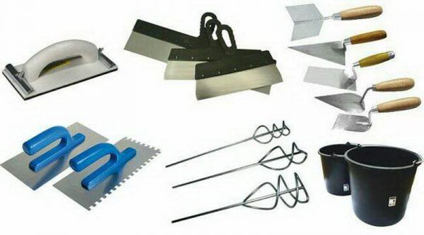Инструмент для оштукатуривания фасадов