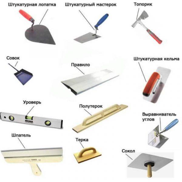 Инструменты для штукатурки карта мира