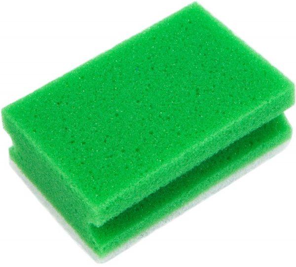 Зеленая поролоновая губка