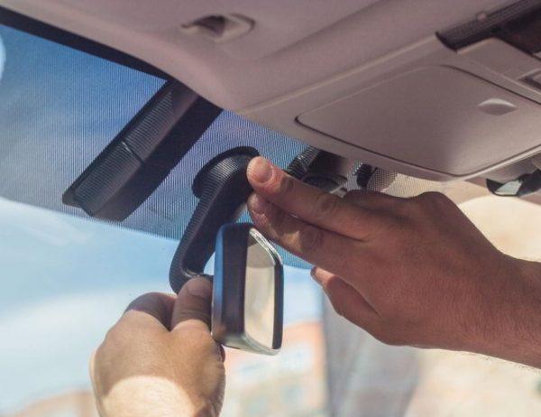 Как правильно клеить авто зеркало