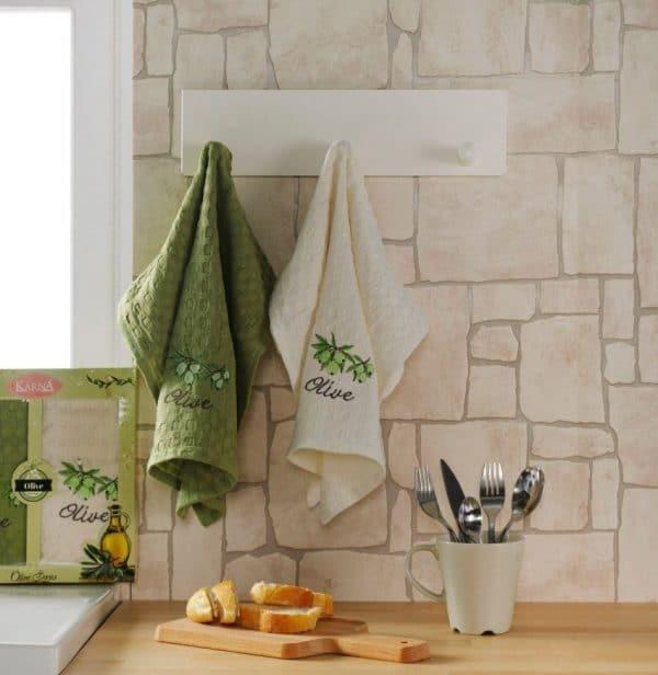 Вафельные полотенца для кухни