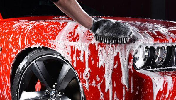 Мойка автомобиля после покраски