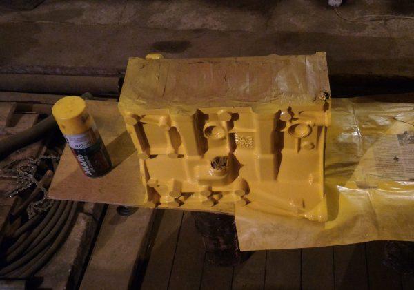 Покраска блока двигателя ВАЗ 21120