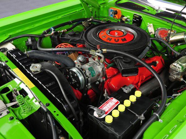 Покраска мотора для шоу