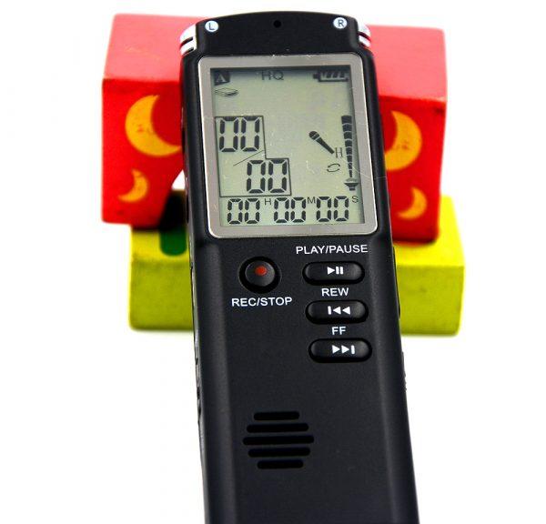 Профессиональный цифровой диктофон 16 ГБ