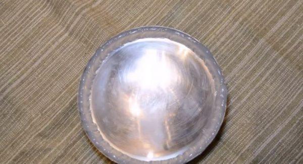 Прокладка из клея герметика