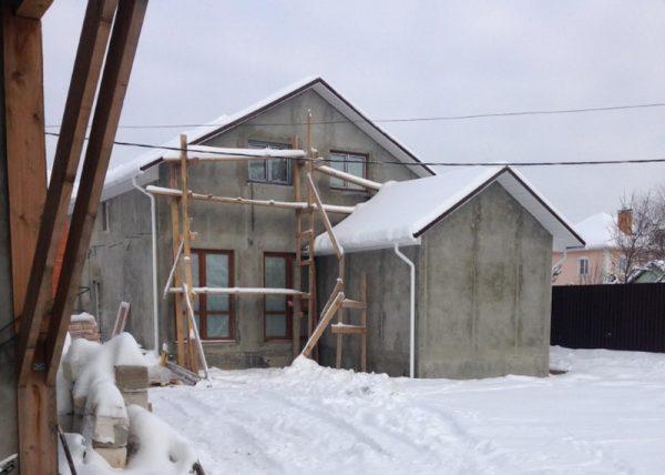 Штукатурные работы в зимний период