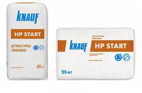 Стартовая гипсовая смесь Knauf