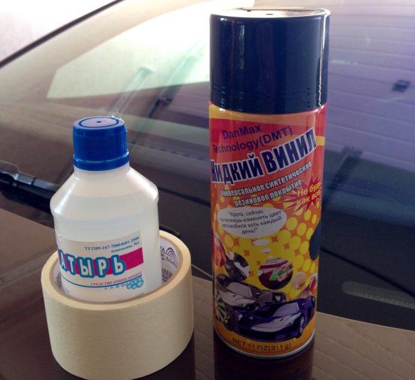 Жидкий винил для салона авто