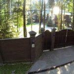 Забор вокруг дома