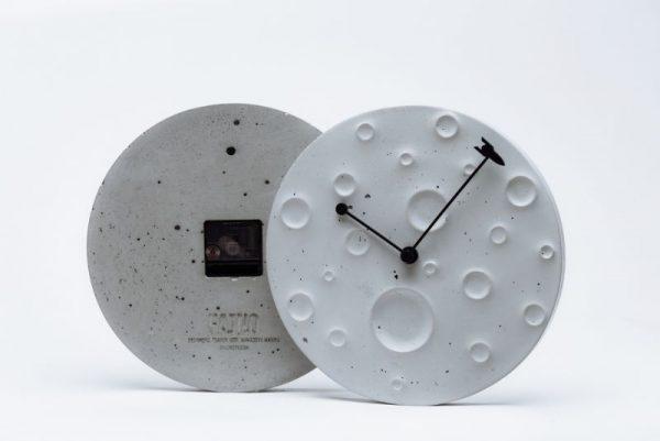 Часы из бетона настенные