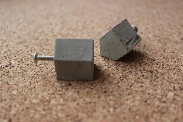 Ручки для мебели из бетона