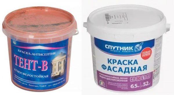 Краска-антисептик «Тент-В» и Спартак