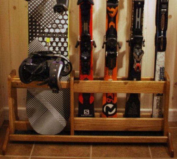 Шкаф для горнолыжного инвентаря