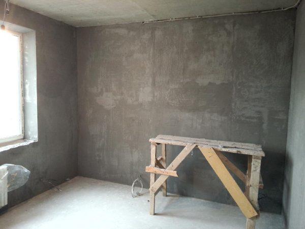 Черновая штукатурка стен
