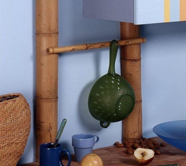 Декорирование трубы под бамбук