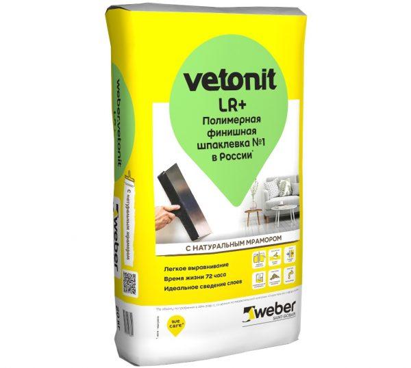 Финишная полимерная смесь Vetonit LR Plus