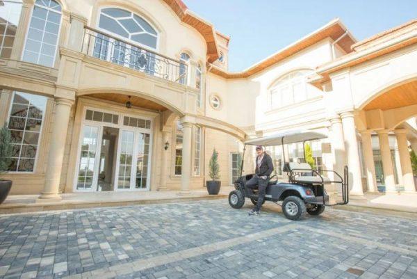 Роскошный дом Эмина Агаларова в Баку