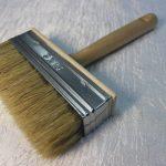 Кисть макловица с деревянной ручкой