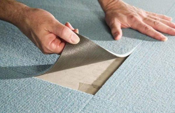 Покрытие напольное ковровое