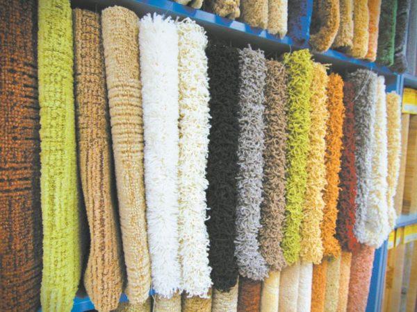 Синтетические ковровые материалы