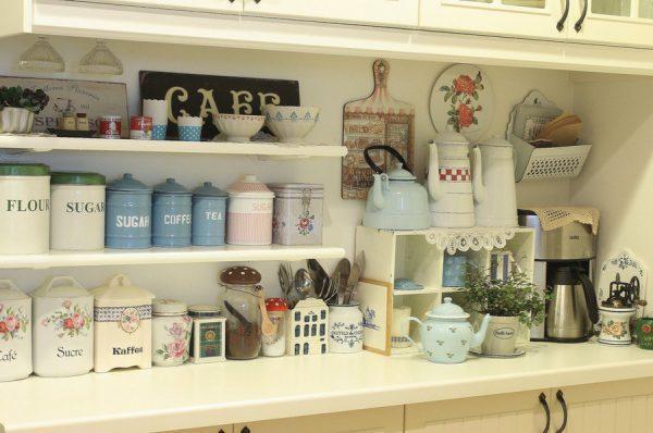 Кухонные баночки для хранения