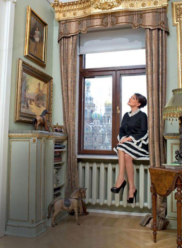 Актриса Мельникова в своей коммунальной квартире