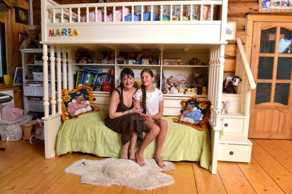 Спальня и детская в доме Анастасии Мельниковой