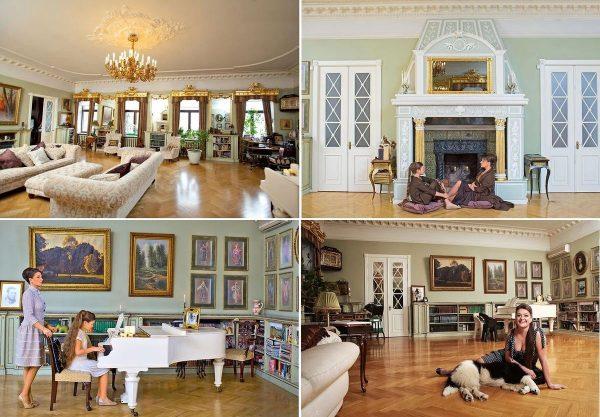 Дизайн интерьера в квартире Мельниковой