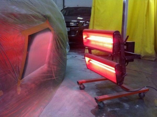 Лампы для сушки ЛКП автомобиля