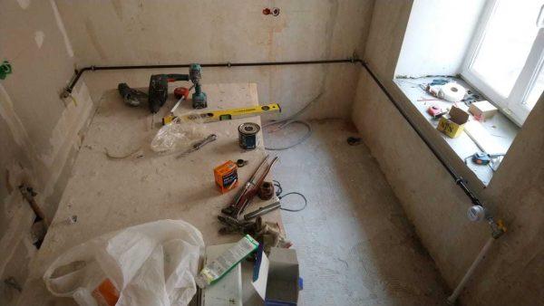 Монтаж газовых труб в квартире