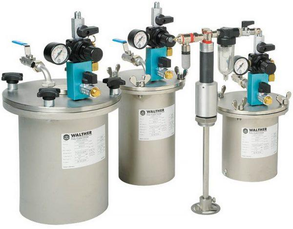 Напорные емкости LDG на 5, 10 и 20 литров