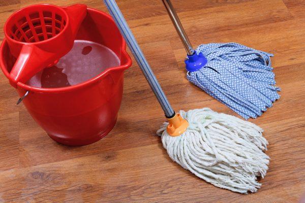 Обновите швабры для мытья полов