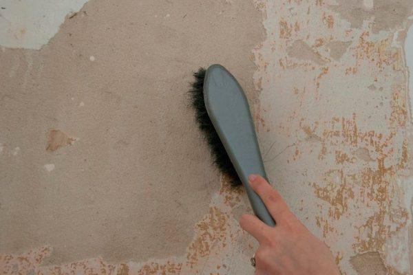 Очистка поверхности перед шпаклеванием