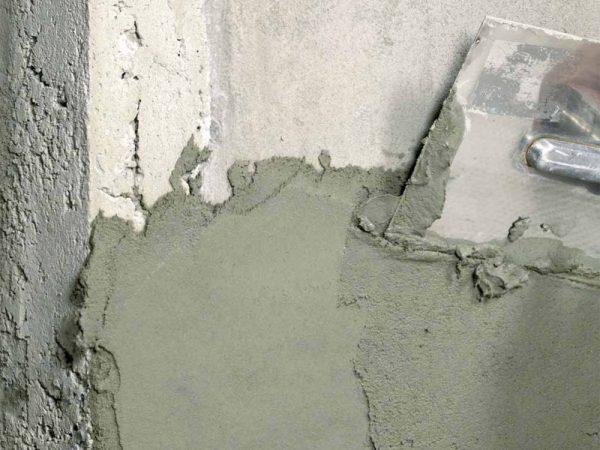 Отделка бетонной поверхности