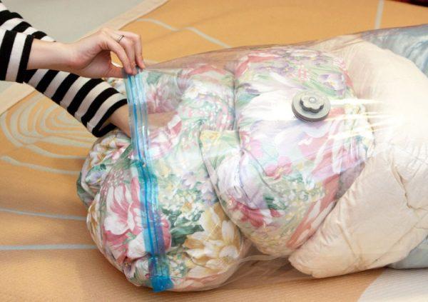 Вакумные пакеты для одеял