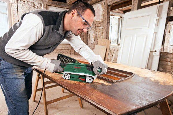 Шлифовка деревянной поверхности