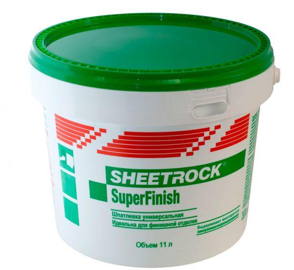 Шпаклёвка готовая Sheetrock SuperFinish