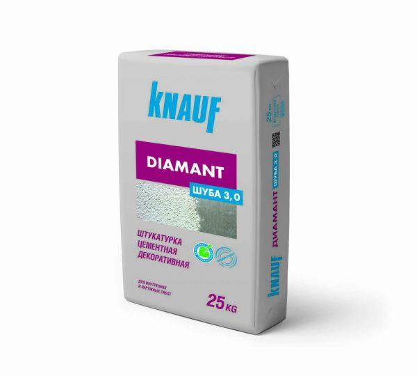 Штукатурка цементная фасадная декоративная Knauf Диамант
