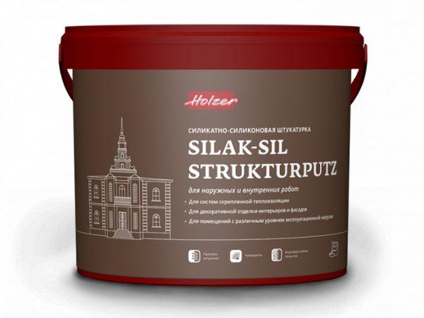 Силикатно-силиконовый состав Хольцер