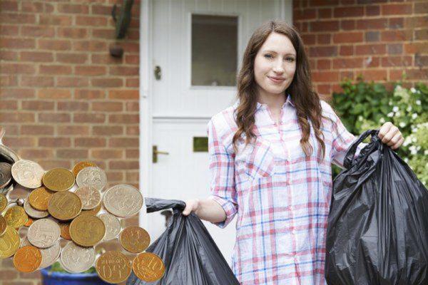 Соберите и выбросьте из квартиры весь мусор и хлам
