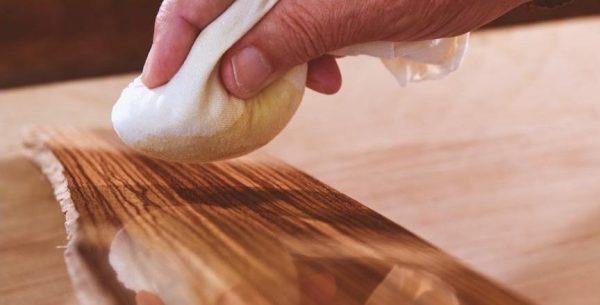 Тампон для полировки древесины