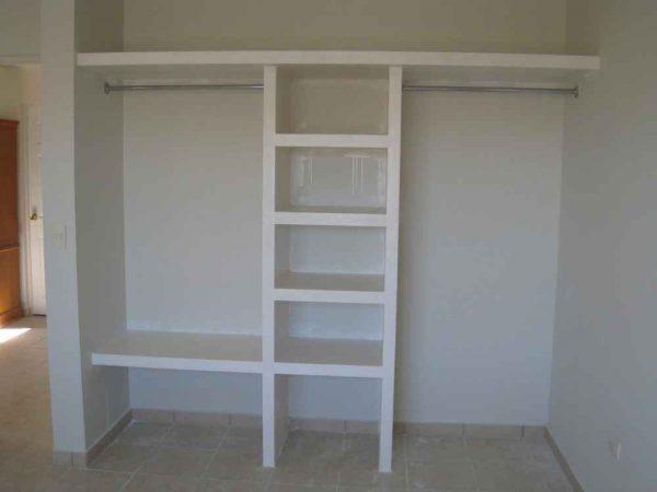 Встраиваемый шкаф из гипсокартона
