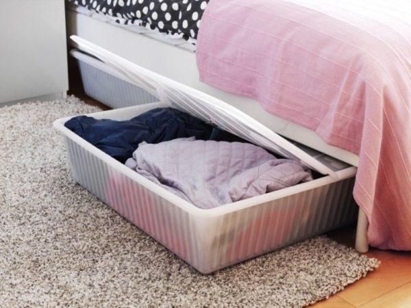 Ящики для хранения под кроватью
